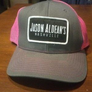 Jason Aldean's Concert Adjustable Baseball ⚾ Cap
